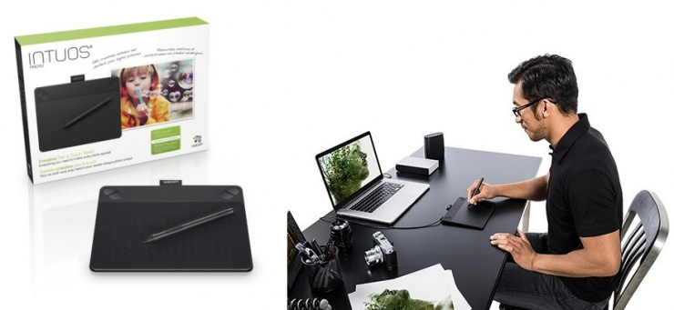 Edit� fotograf�as como un profesional, en la nueva Intuos Photo de Wacom