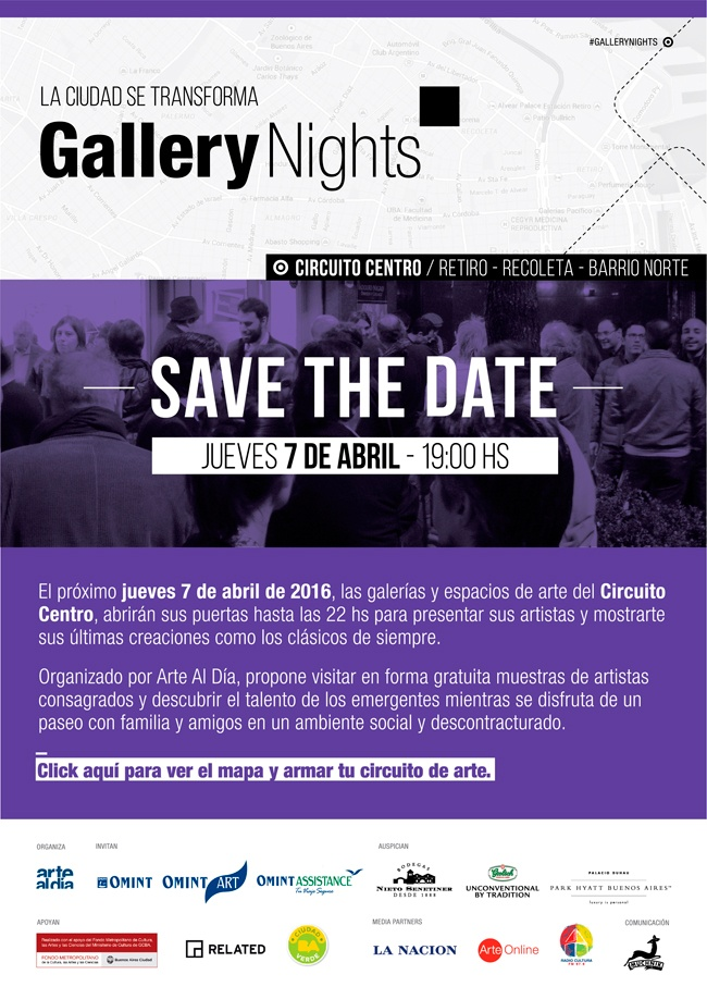 Gallery Nights - 7 de abril 2016
