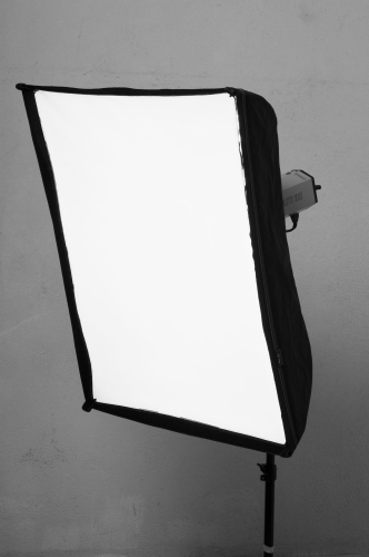 Iluminando con Soft Box