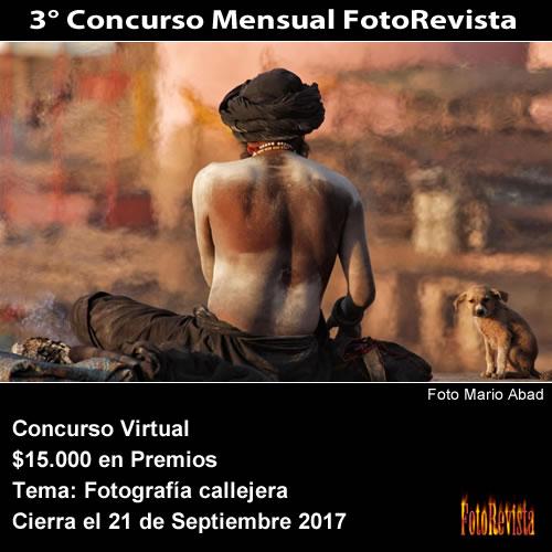 3° Concurso Mensual FotoRevista