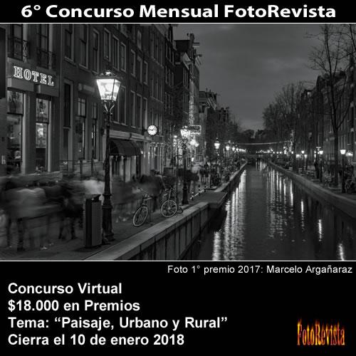 6° Concurso Mensual FotoRevista