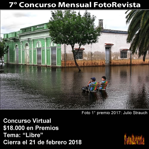 7° Concurso Mensual FotoRevista