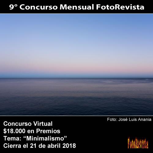 9° Concurso Mensual FotoRevista
