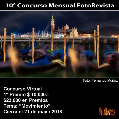 10° Concurso Mensual FotoRevista