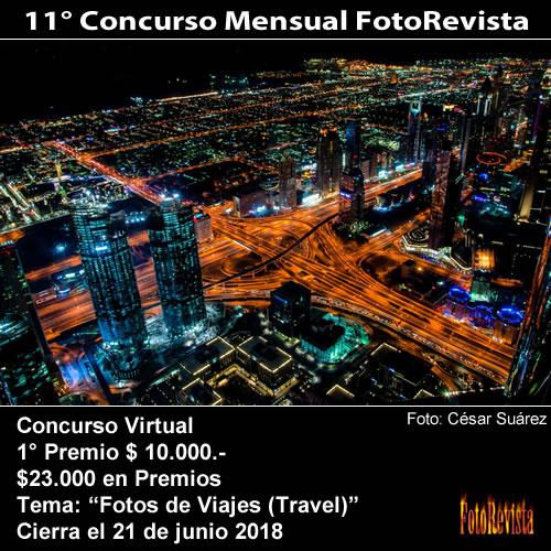 11° Concurso Mensual FotoRevista