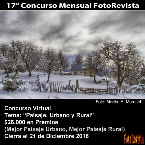 17° Concurso Mensual FotoRevista