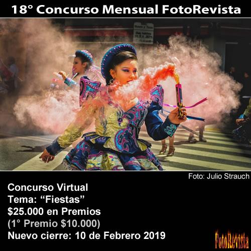 18° Concurso Mensual FotoRevista