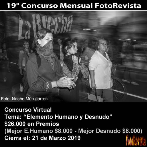 19° Concurso Mensual FotoRevista