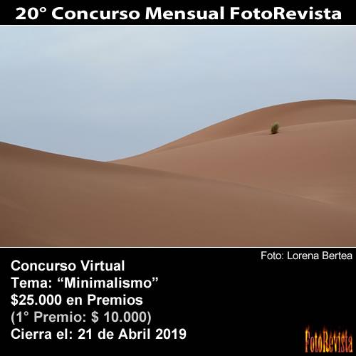20° Concurso Mensual FotoRevista