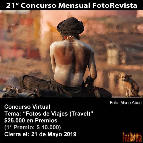 21° Concurso Mensual FotoRevista