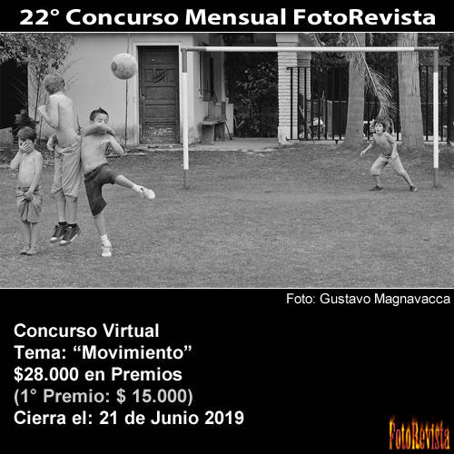 22° Concurso Mensual FotoRevista