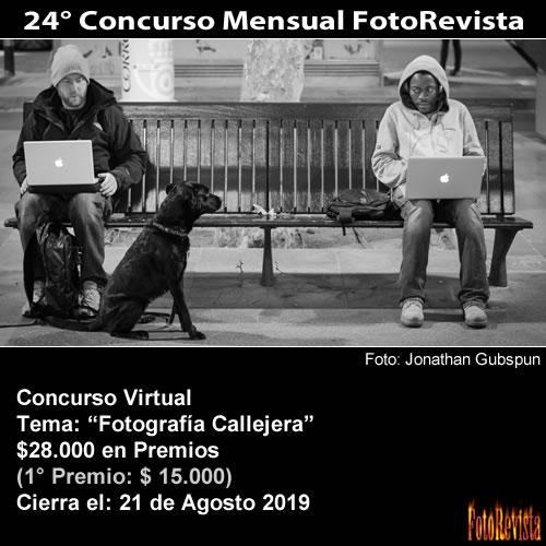 24° Concurso Mensual FotoRevista
