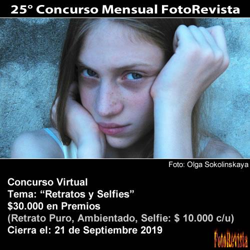 25° Concurso Mensual FotoRevista