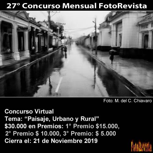 27° Concurso Mensual FotoRevista