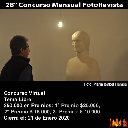 28° Concurso Mensual FotoRevista