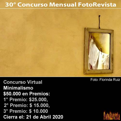 30° Concurso Mensual FotoRevista