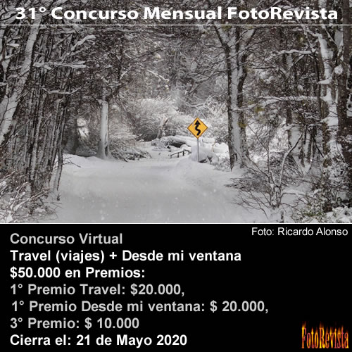 31° Concurso Mensual FotoRevista