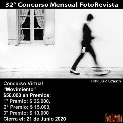 32° Concurso Mensual FotoRevista