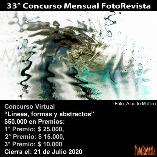 33° Concurso Mensual FotoRevista