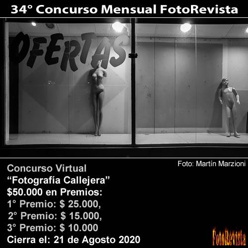 34° Concurso Mensual FotoRevista