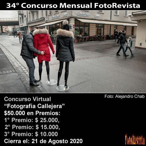 34° Concurso Mensual FotoRevista