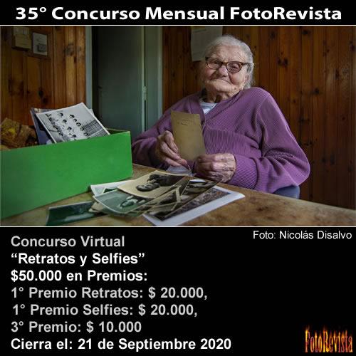 35° Concurso Mensual FotoRevista