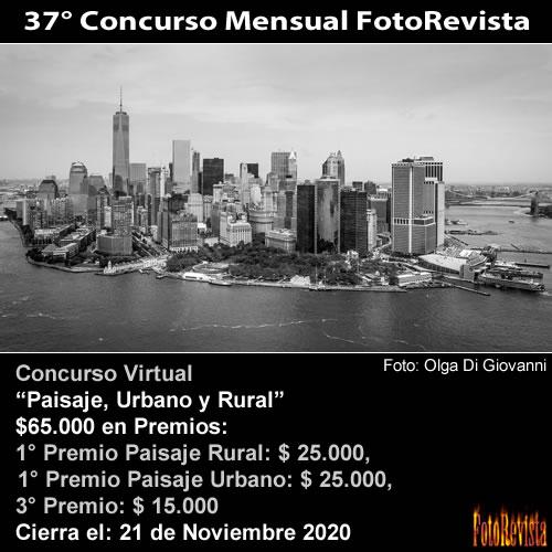 37° Concurso Mensual FotoRevista