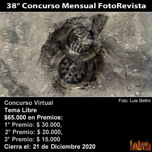 38° Concurso Mensual FotoRevista