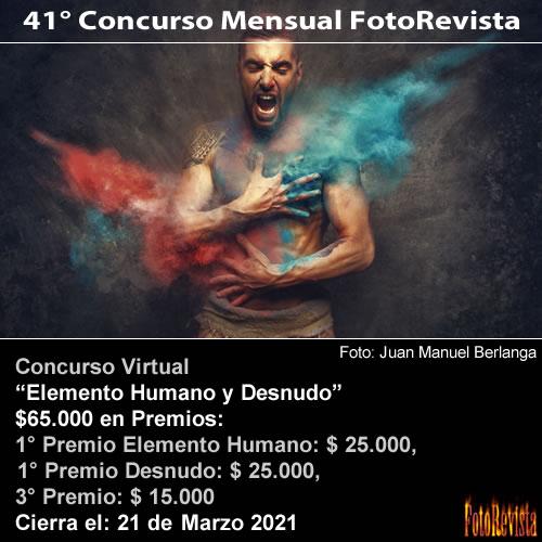 41° Concurso Mensual FotoRevista