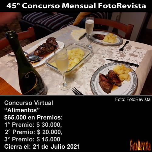 45° Concurso Mensual FotoRevista
