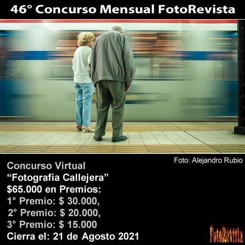 46° Concurso Mensual FotoRevista