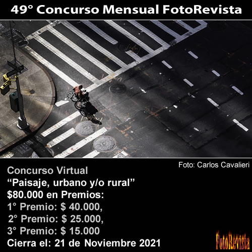 49° Concurso Mensual FotoRevista