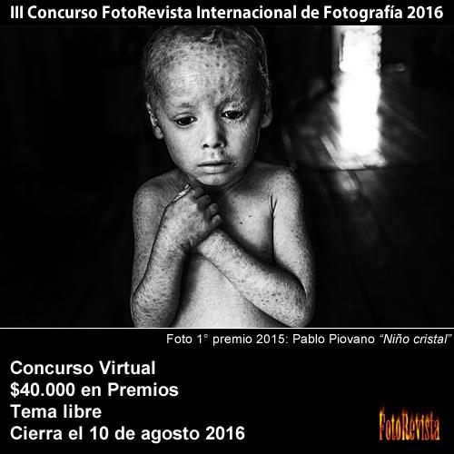 3� Sal�n FotoRevista Internacional de Fotograf�a 2016
