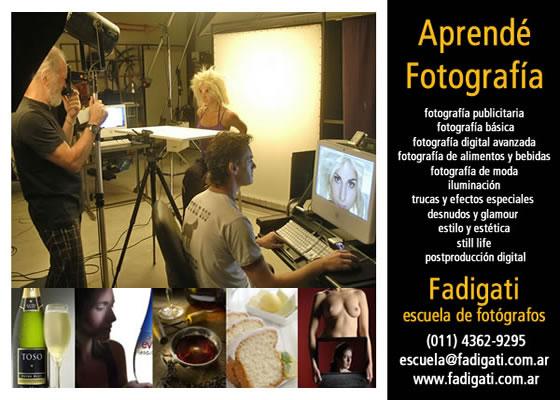 Fadigati, Escuela de Fotógrafos