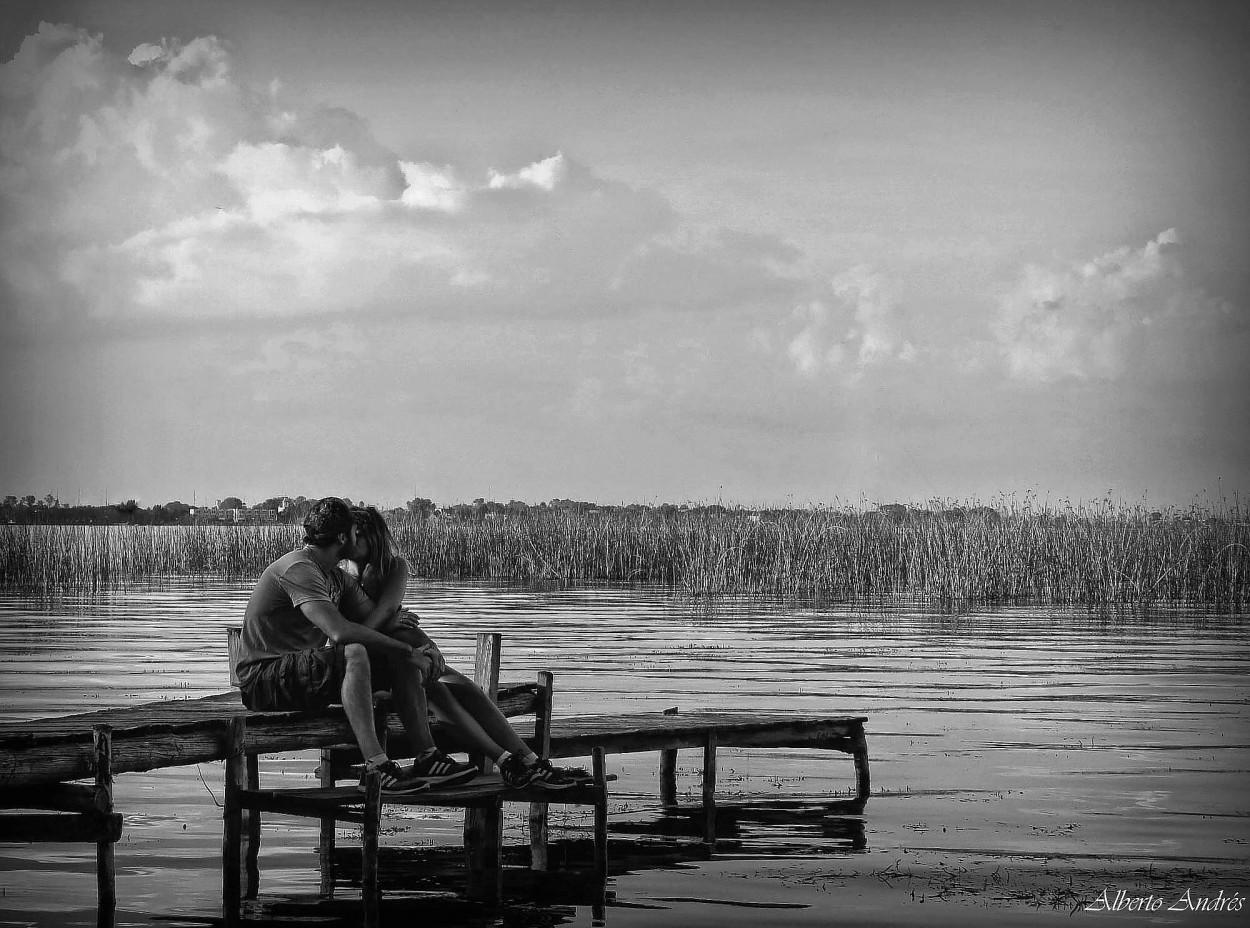 #FotoRevista / Sencillamente Fotos / Amor En Blanco Y
