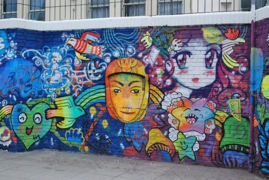 FotoRevista / Monica Casso / Graffitis callejeros